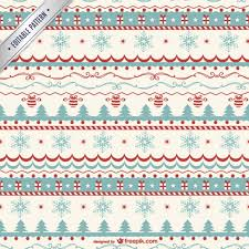 Christmas Pattern Inspiration Vintage Christmas Pattern Vector Vector Free Download
