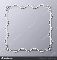 old vintage frame with decorative ornate vintage border retro elements vector ilration beautiful filigree ornamental template for design of frames