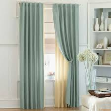 Bedroom Curtain Rod Extraordinary Bedroom Curtain Ideas Long Soft Linen Curtain