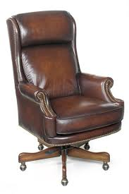 click to enlarge brown leather office chairs