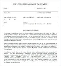 Self Evaluation Example Written Template – Rigaud