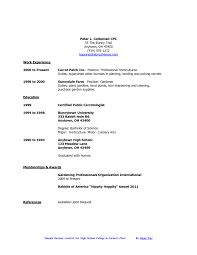 Sample College Resumes For High School Seniors Uxhandy Com 6
