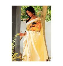 Devotionalstore Clothing Kerala Traditional Wear Kerala Saree