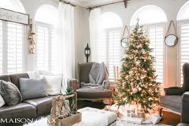 christmas living room decorating ideas. Green And White Christmas Decorating Ideas - So Many Lovely Natural Greenery Cozy Neutral Decorations Living Room