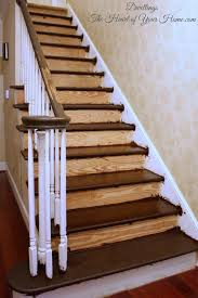 Carpet To Hardwood Stairs Carpet To Wood Staircase Update Dwellings The Heart Of Your Home
