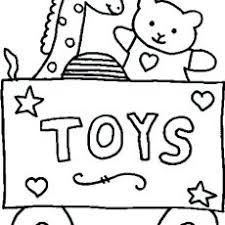 Very Attractive Toys Coloring Pages Christmas Sheets Preschool