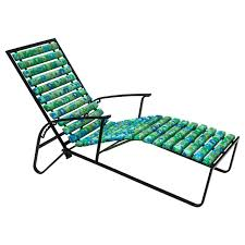 Patio Recliner Chairs Tubular Steel Patio Reclining Lounge Chair By Samsonite For Sale