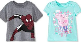 Target Baby Girl Clothes Magnificent Target 32% Off Toddler Character Clothes Cartwheel = Tees Only