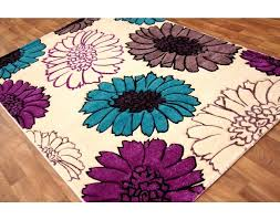 plum and cream rug lofty teal and purple rug marvelous ideas via open toe leather slides
