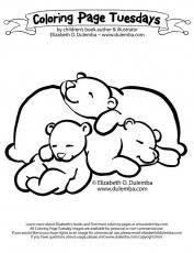 Small Picture Sleeping Care Bear Coloring Printable Kids Coloring Pages