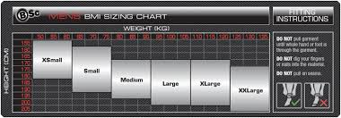 Sizing Chart Body Science Compression Bsc