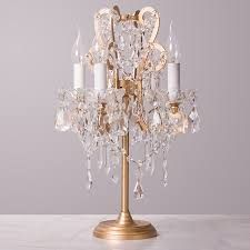 French Vintage Wrought Iron Crystal Table Lamp Bedroom Bedside Lamp  Princess Castle Manor Children Room Table