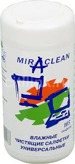 <b>Влажные салфетки Miraclean 24168</b>, 105 шт (туба), отзывы ...
