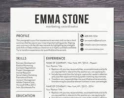 Modern Resume Templates Formal Print Il 340 270 S 49 L Template Cv