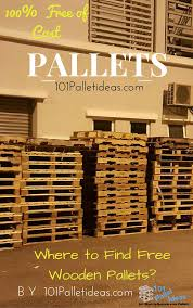 Pallets Where To Get Pallets For Free