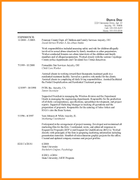 9 Work Resumes Examples Agenda Example