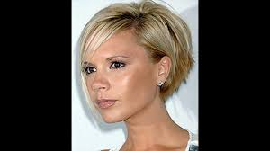 Victoria Beckham Short Hairstyles Youtube