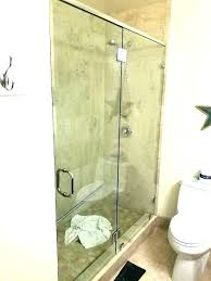 install shower doors installing door on glass tile frameless installation cost estimate new with show