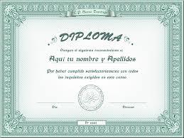 Formato De Diplomas Para Llenar Plantilla Powerpoint De Diploma