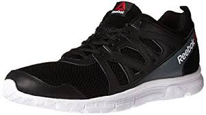 reebok mens running shoes. reebok men\u0027s run supreme 2.0 mt running shoe, black/white/alloy, 7 mens shoes e