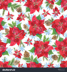 Poinsettia Pattern Cool Inspiration