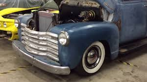 1953 Chevy Truck LS 6.0 First Start - YouTube