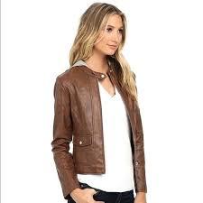 bb dakota faux leather jacket asymmetrical