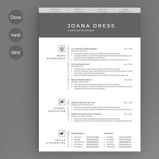 Resume Template Ai New The Best Cv Resume Templates 100 Examples Design Shack 43