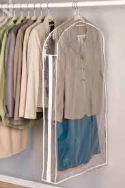 closet organization tips garment bags protector storage ideas