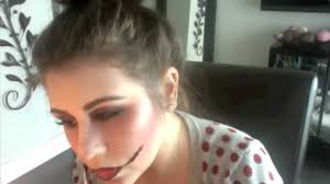easy y zombie makeup for