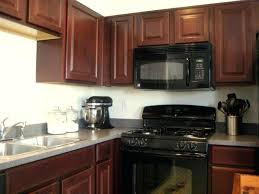 painted kitchen cabinets with black appliances. What Color To Paint Kitchen Cabinets With Black Appliances Farm House Ideas A Grey . Painted