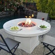 gas fire pit table play gas fire pit table round
