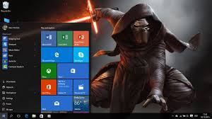 star wars the force awakens theme windows 8 and 10
