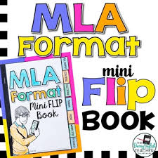 Mla Format 8th Edition Mini Flip Book By The Daring English Teacher