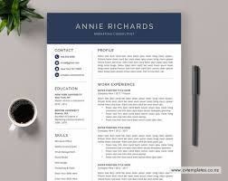 Richards Resume Modern Products Page 3 Cvtemplates Co Nz