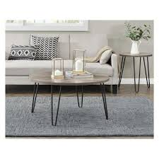 heywood retro round coffee table