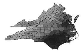 Image result for virginia north carolina map