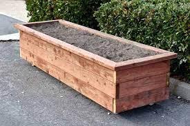 build a diy planter box on wheels