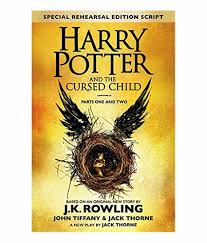 harry potter and the cursed child parts i and ii english hardback 2018