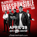 Yum Center Seating Chart Kevin Hart Kevin Hart The Irresponsible Tour Kfc Yum Center