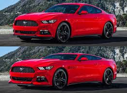 2016 mustang mach 1. Exellent 2016 Future Car Renderings  2017 Ford Mustang Mach 1 3vert Throughout 2016 H