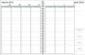 Free Weekly Schedule Template Excel Calendar Schedule Template