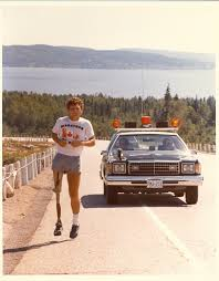 terry fox the canadian encyclopedia terry fox on the road