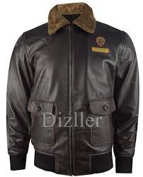 nick jonas jumanji 2 welcome to the jungle distress leather jacket