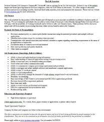 camp counselor job description