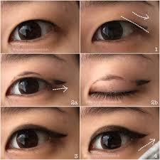 monolid make up tutorial eyeliner for hooded monolids single ey