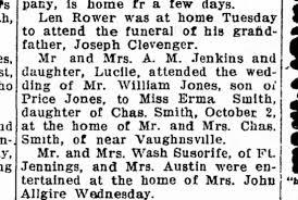 Erma Smith and William Jones wedding - Newspapers.com