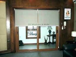cellular shades for sliding doors shades for sliding glass doors roller shades for sliding glass doors