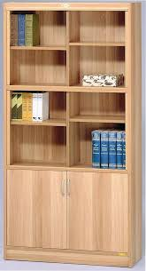 ikea billy bookcases with glass doors and added molding for a custom look wall bookshelves classic