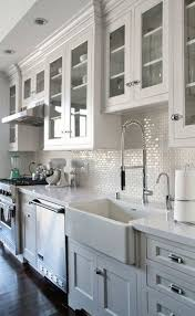 best 25 white kitchen sink ideas